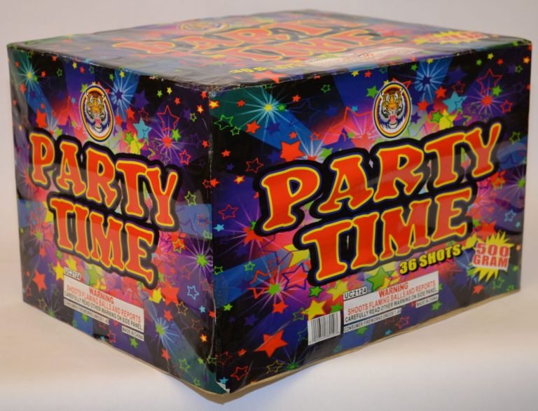 500 Gram Finale Cake – Party Time 1