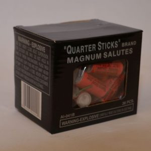 Firecrackers – Quarter Sticks Magnum Salutes (2)