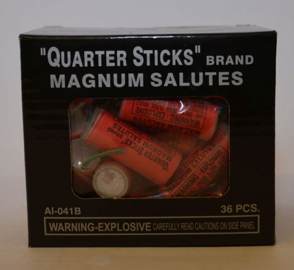 Firecrackers – Quarter Sticks Magnum Salutes (3)