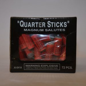 Firecrackers – Quarter Sticks Magnum Salutes (5)