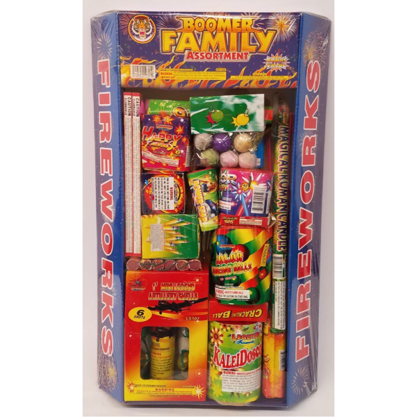 Fireworks Assortments – Boomer Family Assortment 1