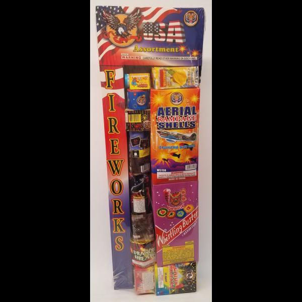 Fireworks Assortments – USA Assortment 1