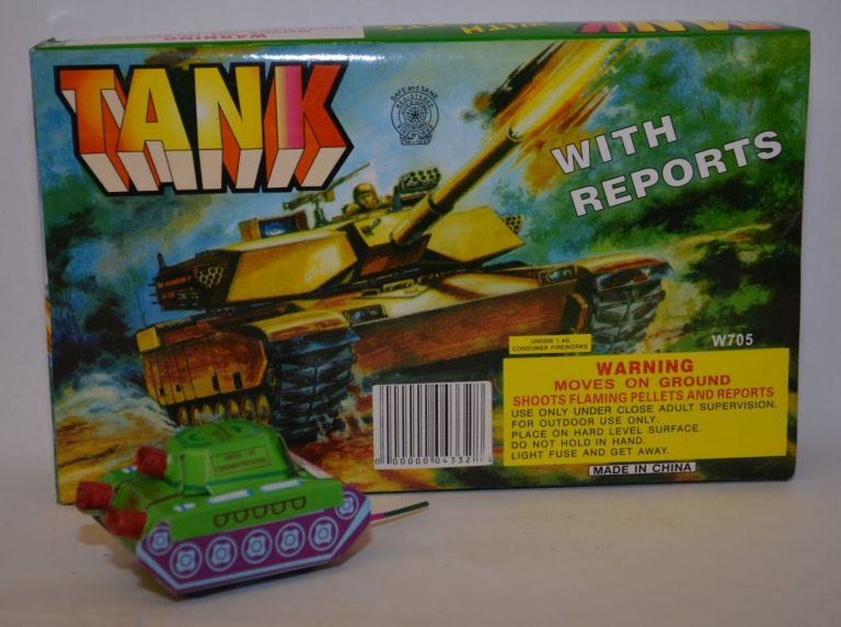 Novelty Fireworks – Tank With Reports (1)