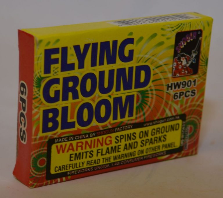 Spinners – Flying Ground Bloom (1)