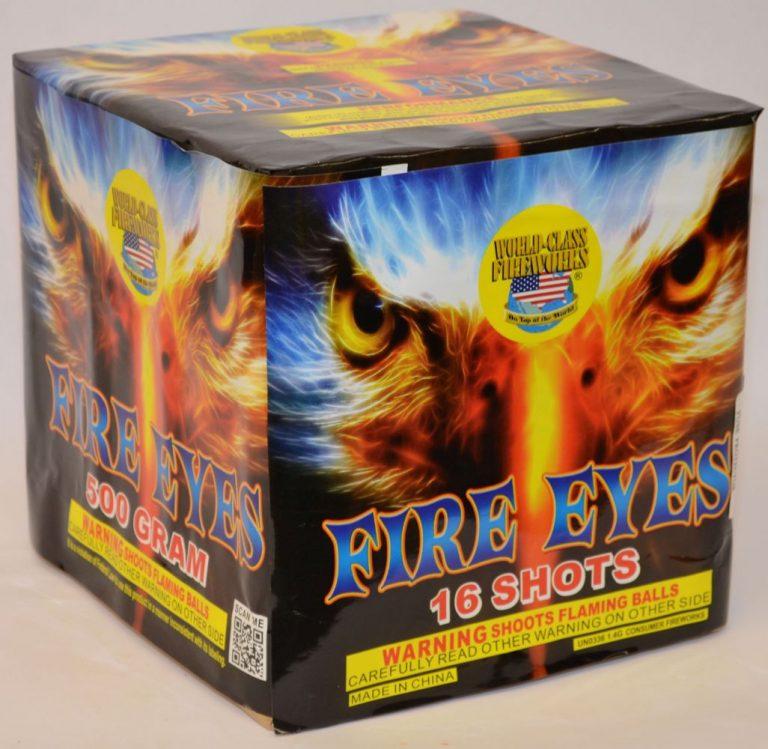 500 Gram Finale Cake – Fire Eyes 1