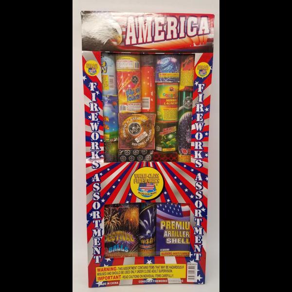 Fireworks Assortments – America 1