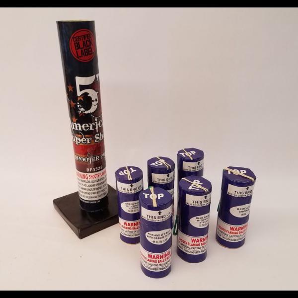 Mortars – 5 Inch American Super Shots (1)